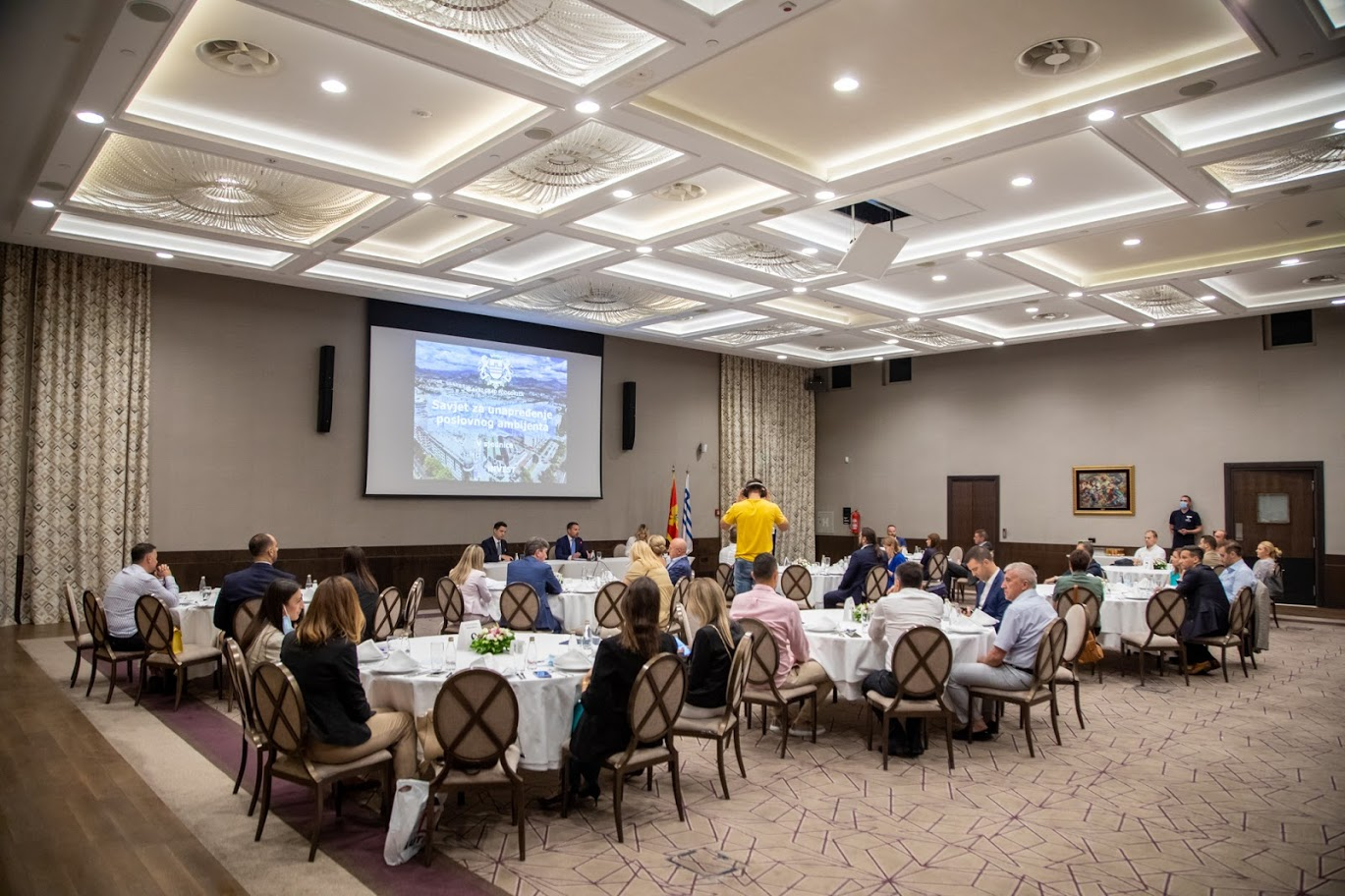 COUNCIL FOR THE IMPROVEMENT OF BUSINESS ENVIRONMENT ON THE TERRITORY OF THE CAPITAL CITY PODGORICA HELD ITS 5TH SESSION